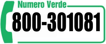 Numero verde 8000301081 - Emergenze e manutenzioni attivo 24 ore su 24